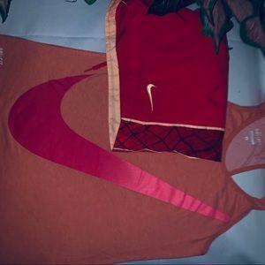Nike shorts and tank